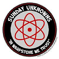 Sunday Unknowns